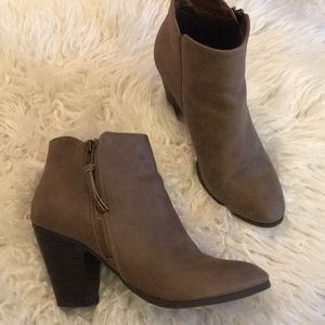Charlotte Russe fall bootie